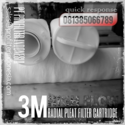3M Radial Pleat High Flow Cartridge Filter Indonesia  large
