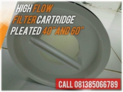 High Flow Pleated Amine Cartridge Filter Indonesia  large