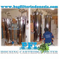 PFI UFC30 24 High Flow Multi Cartridge Filter Housing Stainless Steel bag filter indonesia  large