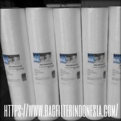 d PP45 Spun Big Blue Filter Cartridge Indonesia  large